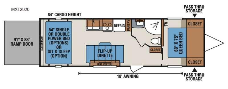 MXT MXT2920 Floorplan Image