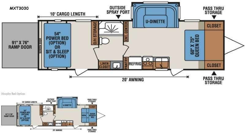 MXT MXT3030 Floorplan Image