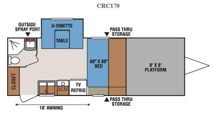 MXT CRC170 Floorplan Image