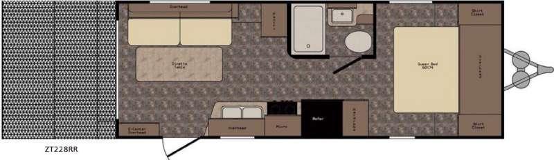 Z 1 ZT228RR Floorplan Image