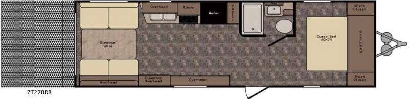 Z 1 ZT278RR Floorplan Image