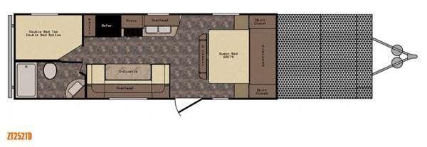 Z 1 ZT252TD Floorplan Image