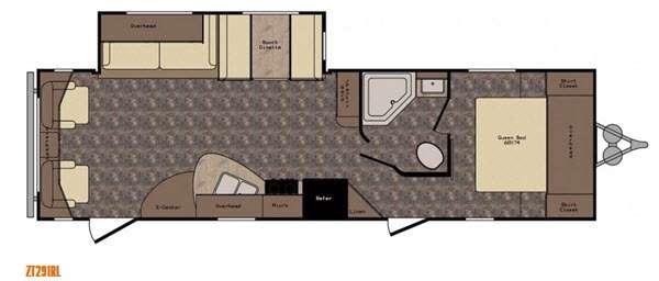 Z 1 ZT291RL Floorplan Image
