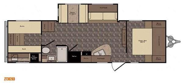Z 1 ZT302KB Floorplan Image