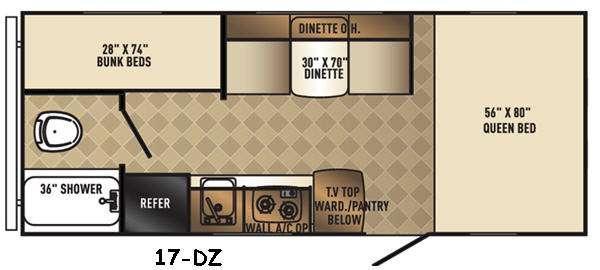 Real-Lite Mini 17-DZ Floorplan Image