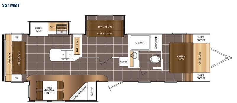 LaCrosse 321MBT Floorplan Image