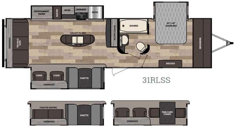 Instinct 31RLSS Floorplan Image