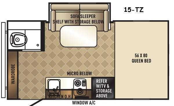 Real-Lite Mini 15-TZ Floorplan Image