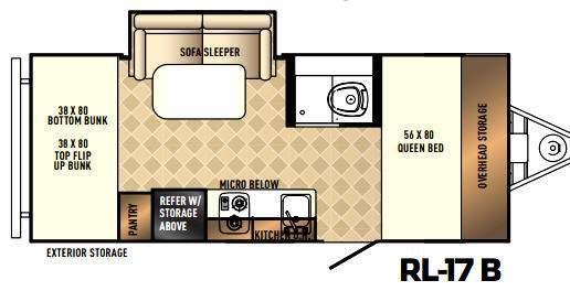 Real-Lite Mini 17-B Floorplan Image