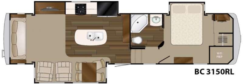 Big Country 3150 RL Floorplan Image