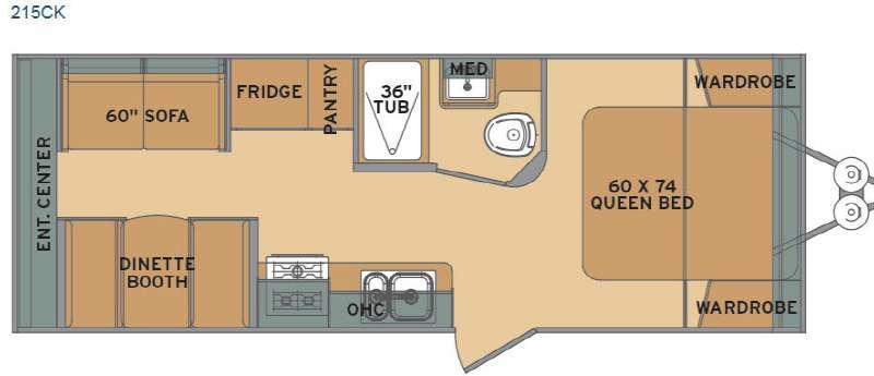 Flyte 215CK Floorplan Image