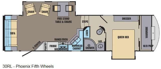 Phoenix 30RL Floorplan Image