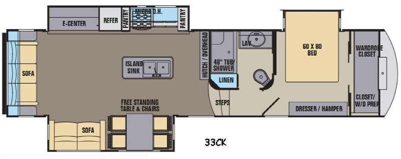 Phoenix 33CK Floorplan Image
