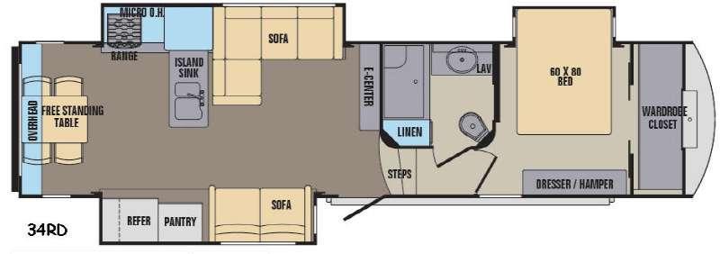 Phoenix 34RD Floorplan Image