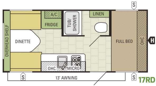 AR-ONE 17RD Floorplan Image