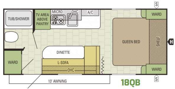 AR-ONE 18QB Floorplan Image