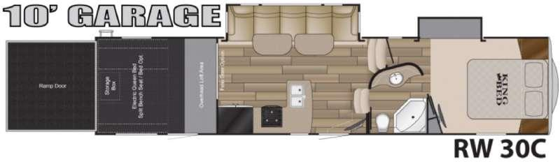 Road Warrior 30C Floorplan Image