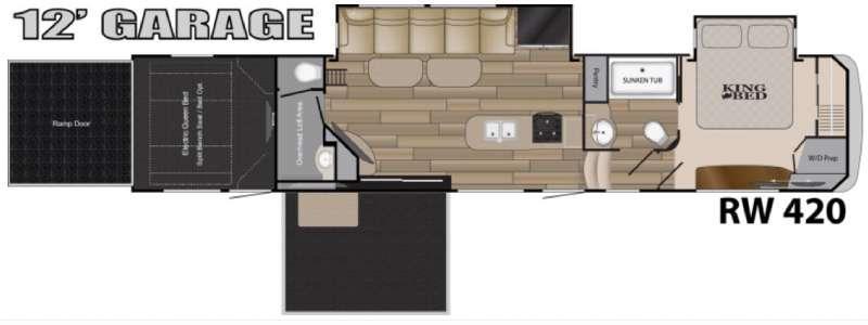 Road Warrior 420 Floorplan Image