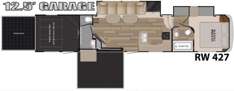 Road Warrior 427 Floorplan Image