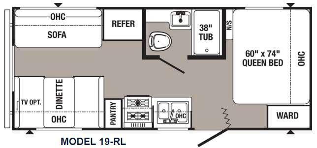 Puma 19-RL Floorplan Image