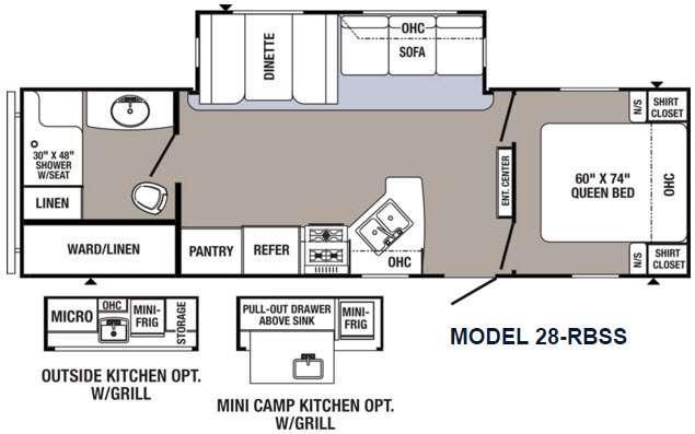 Puma 28-RBSS Floorplan Image
