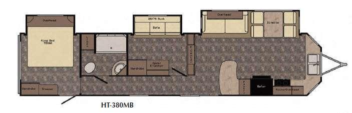 Hampton HT380MB Floorplan Image