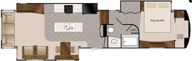 Floorplan - 2017 DRV Luxury Suites Elite Suites 43 Naples