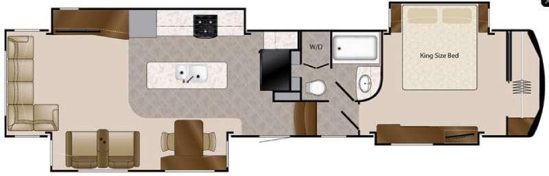 Floorplan - 2017 DRV Luxury Suites Elite Suites 44 Lafayette