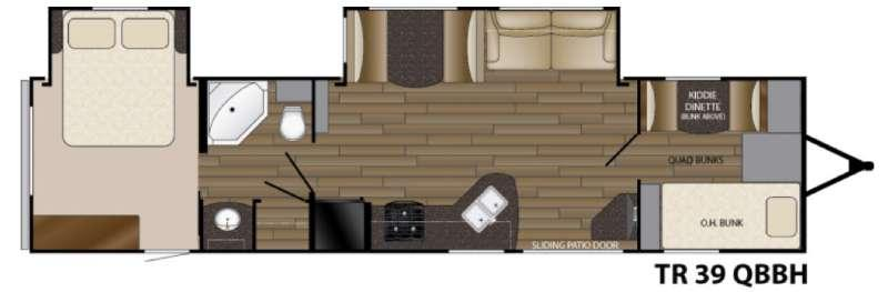 Trail Runner 39QBBH Floorplan Image