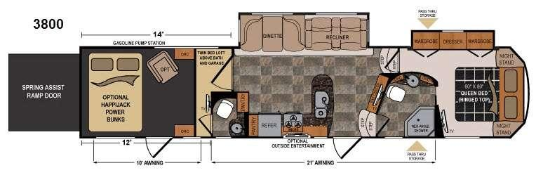 Voltage V3800 Floorplan Image