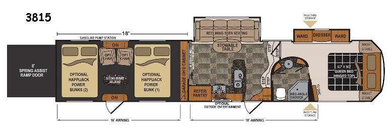 Voltage V3815 Floorplan Image