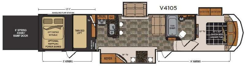 Voltage V-Series V4105 Floorplan Image