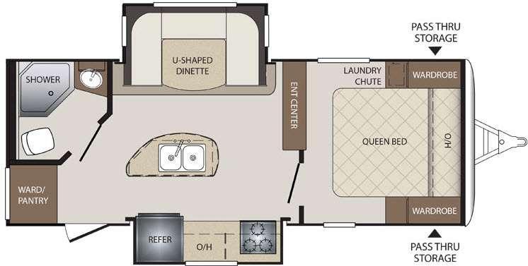 Bullet 220RBI Floorplan Image