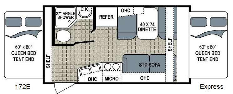 Kodiak Express 172E Floorplan Image