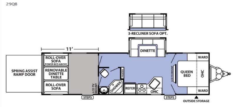 XLR Boost 29QB Floorplan Image