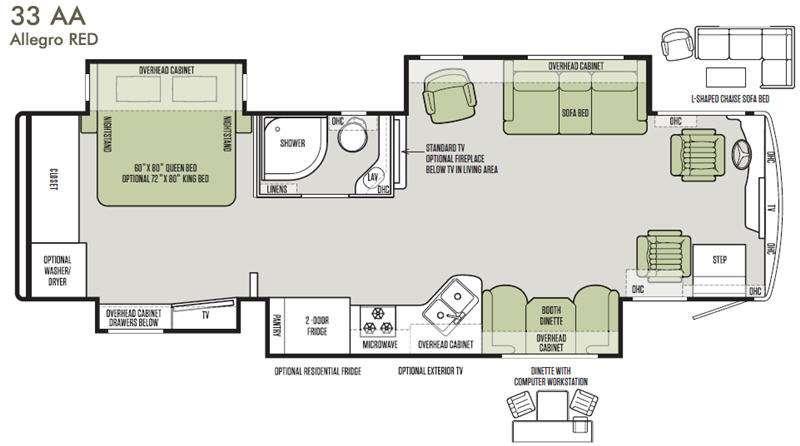 Allegro RED 33 AA Floorplan Image