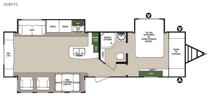 Surveyor 32RETS Floorplan Image