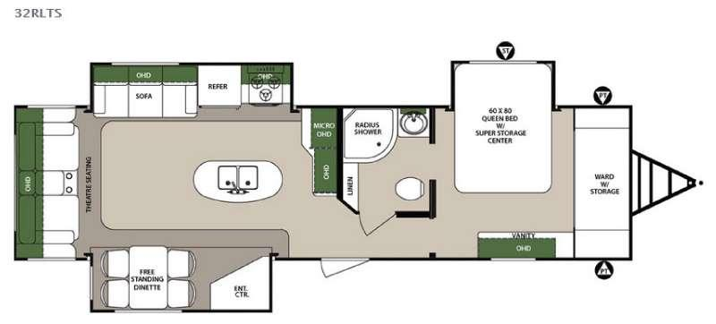 Surveyor 32RLTS Floorplan Image