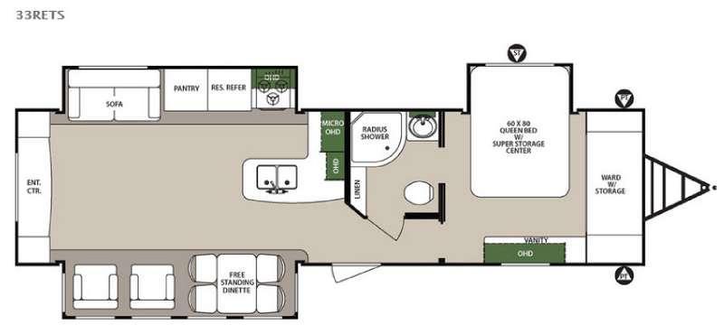 Surveyor 33RETS Floorplan Image