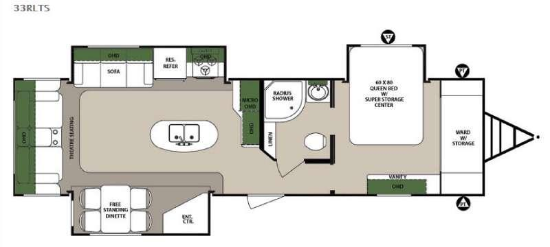 Surveyor 33RLTS Floorplan Image