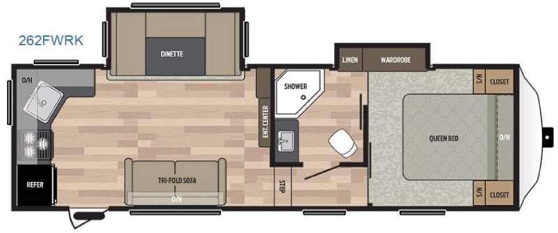 Springdale 262FWRK Floorplan Image