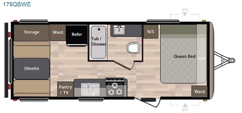 Springdale 179QBWE Floorplan Image
