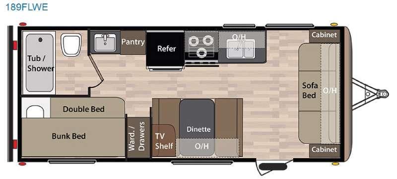 Springdale 189FLWE Floorplan Image