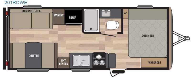 Springdale 201RDWE Floorplan Image
