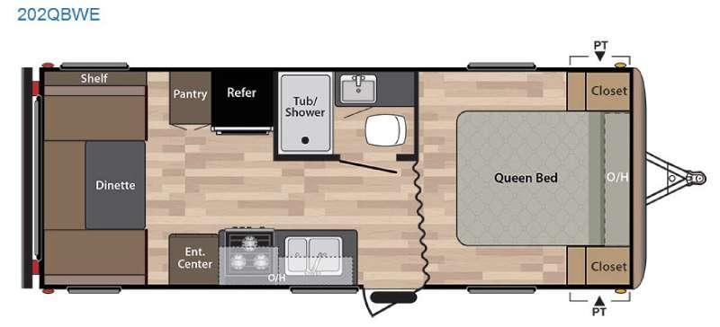 Springdale 202QBWE Floorplan Image