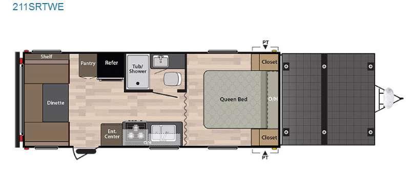 Springdale 211SRTWE Floorplan Image