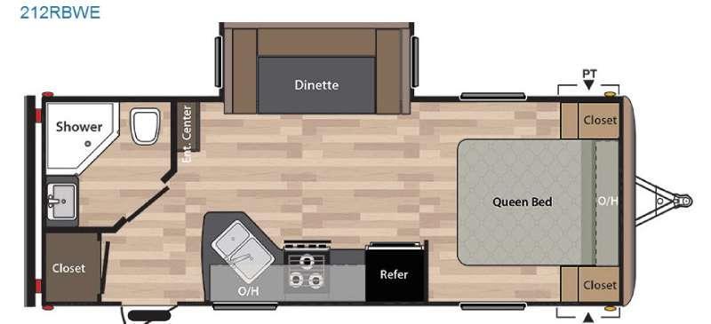 Springdale 212RBWE Floorplan Image