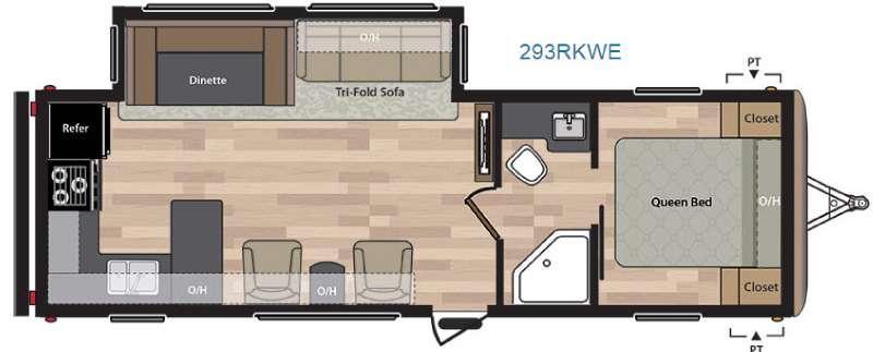 Springdale 293RKWE Floorplan Image