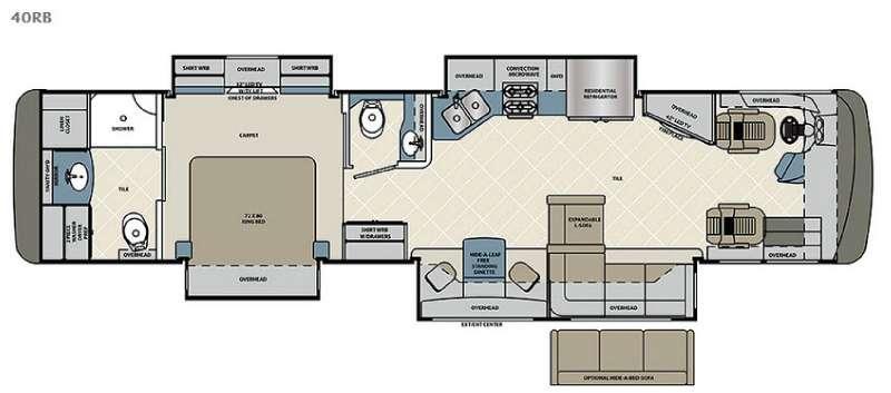 Berkshire XL 40RB Floorplan Image