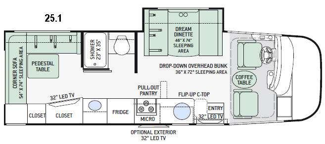 Axis 25.1 Floorplan Image